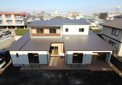 2世帯住宅 施工事例を更新しております。