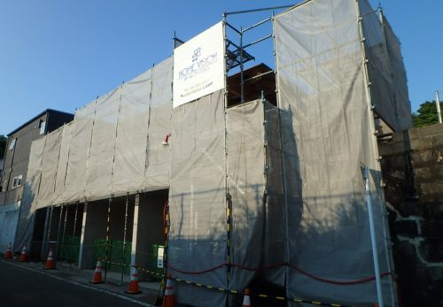 ガレージのある混構造住宅新築工事 上棟致しました!
