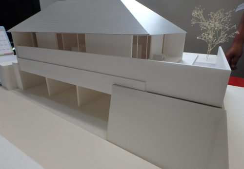 混構造 地下ガレージ付住宅の新築工事進捗を更新中!