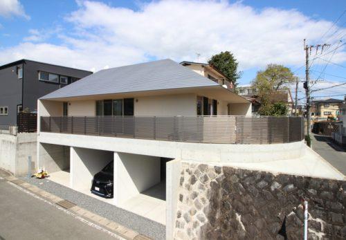 混構造木造住宅 ガレージのある家 施工事例更新